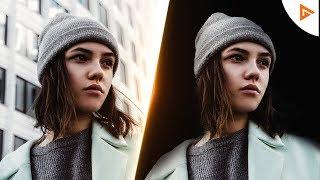 Erstellen Der iPhone-X-STUDIO-LICHT-Effekt auf Ihrem Handy! | Tutorial