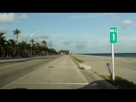 STATE ROAD A1A, KEY WEST, FLORIDA, USA
