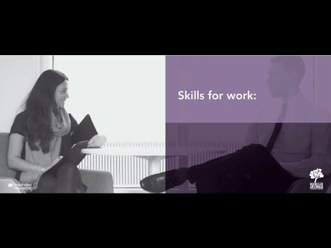Skills for Work Interview Skills - YouTube