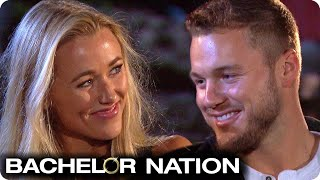 Heather Tells Colton She's Never Been Kissed! 💋 | The Bachelor US