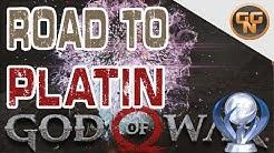 God of War Guide - Road to Platin - 100% God of War - Alle Trophäen - Ein Video God of War 2018