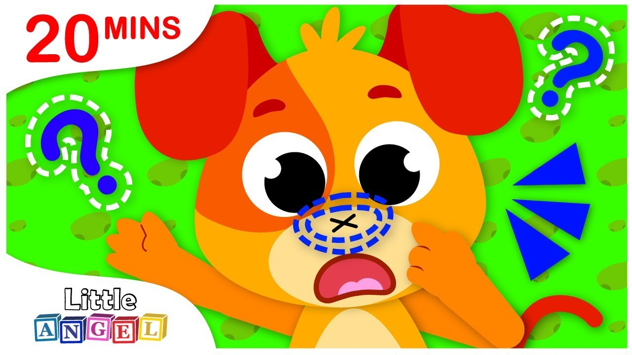 Download Where is My Nose? No No Safety Tips & More Nursery Rhymes Songs by Little Angel