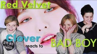 """WENDY slayed!!!"" RED VELVET - Bad Boy Reaction  [CLOVER] [ENG SUB]"