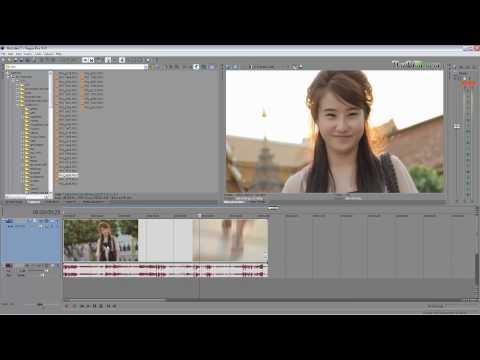 Sony Vegas 9 Tutorials [Thai] : สอนวิธีทำ Slow Motion 3 แบบ