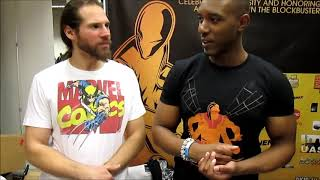 Is'nana the Were-Spider creator Greg Anderson Elysee interview at Big Apple Comic Con