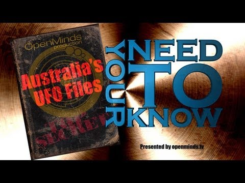 Australia's UFO Files - Your Need to Know