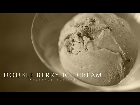 [No Music] How to make Double Berry Ice Cream