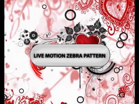 Zebra Peace Live Wallpaper