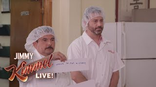 failzoom.com - Jimmy Kimmel & Guillermo at a Fortune Cookie Factory