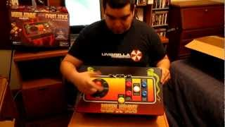 Mortal Kombat Klassic fight stick unboxing..