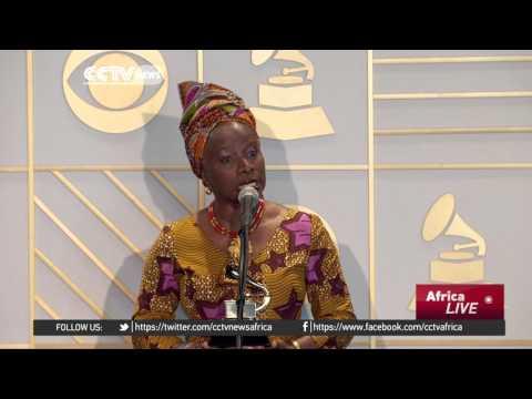 Benin's Angelique Kidjo wins third grammy