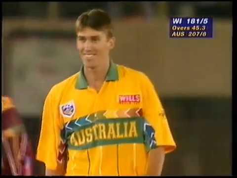 Australia Vs West Indies   World Cup Semi Final 1996