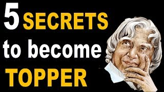 How to become Topper | 5 secrets to become Topper | टॉपर कैसे बने