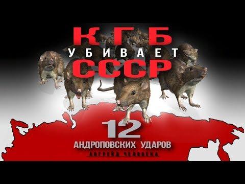 КГБ yбивaeт СССР.
