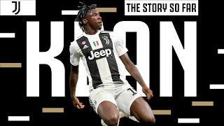 ⚽ Moise Kean: The Story So Far! | Super Strikes & Striker's Instinct!