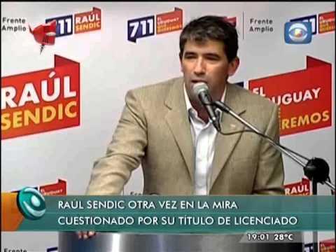 Informe Licenciado Raúl Sendic