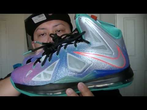 """nike-lebron-x-""""pure-platinum""""-lebron-10-sneaker-review-in-full-hd-by-@jspekz"""
