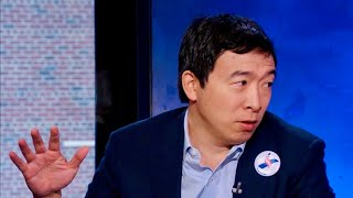 Andrew Yang lays out why he's running for president and giving out $1,000. a month [2018]