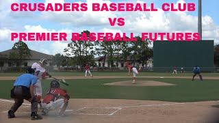 Crusaders Baseball CLUB vs Premier Baseball Futures at WWBA Underclass World Championship