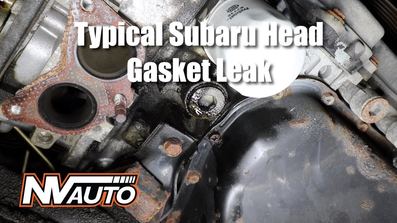 Head Gasket Leak >> How To Diagnose A External Subaru Head Gasket Leak