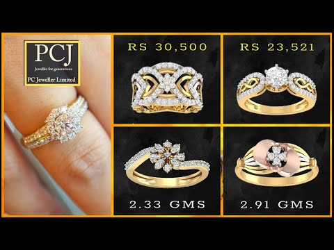 PC Jewellers Diamond Rings With Price (Womens Jewellery)