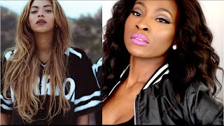 Nicki Minaj ft Beyonce Feeling Myself Inspired Makeup Tutorial