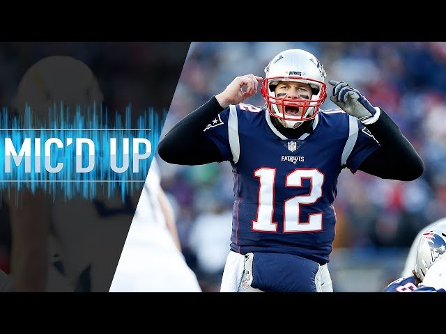 """Chargers vs. Patriots Mic'd Up """"Stop throwing the ball so fast Tom"""" (AFC Divisional Round)"""
