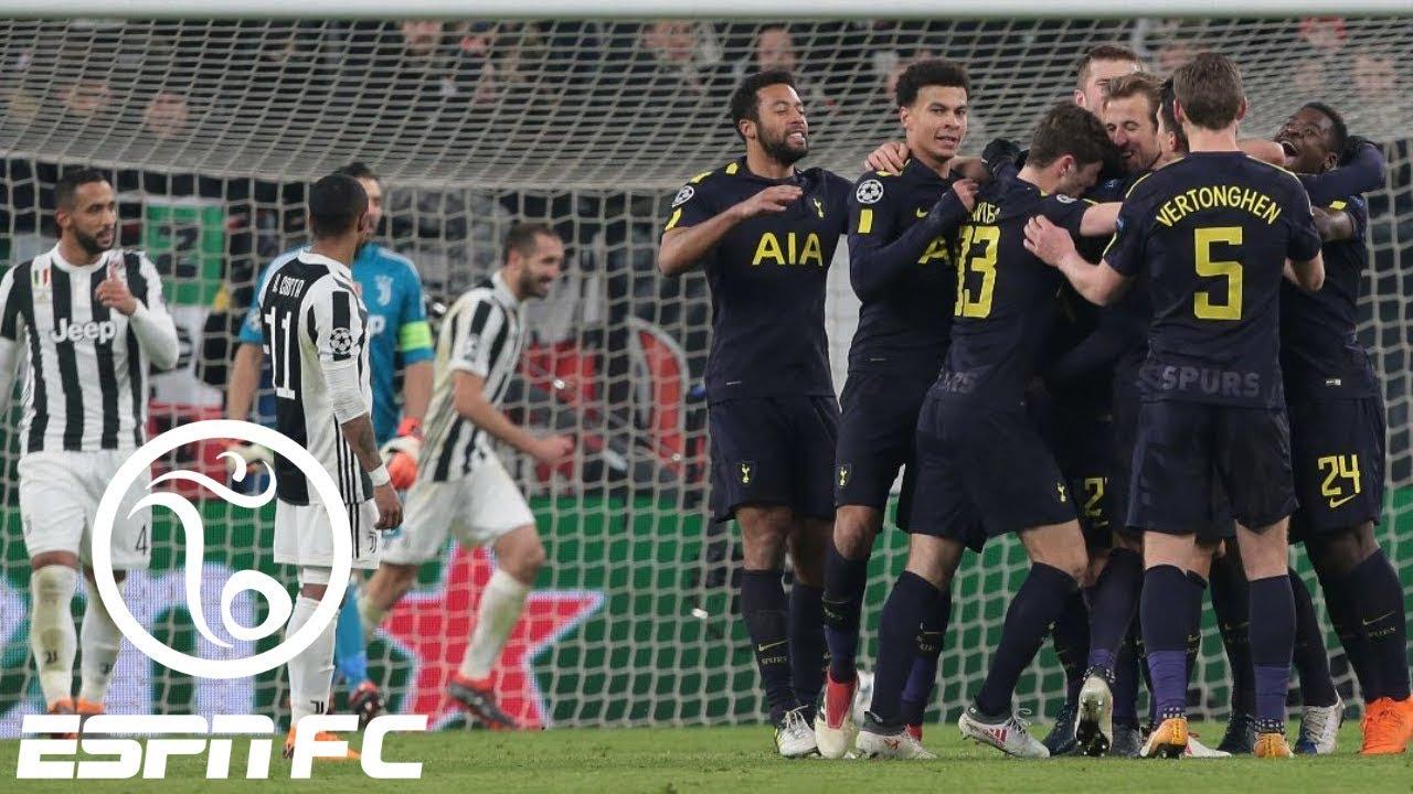 Tottenham has the Champions League advantage after 2-2 draw at Juventus | ESPN FC #1