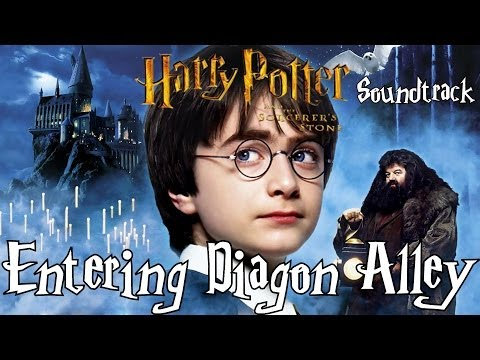 Entering Diagon Alley! - Harry Potter and the Sorcerer's Stone Soundtrack
