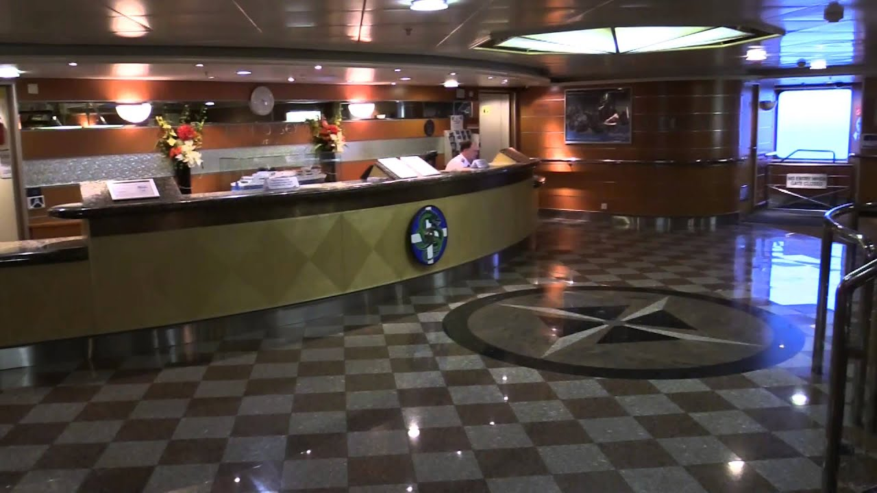Ship A Car >> Inside the ferry Hrossey bound for Shetland - YouTube