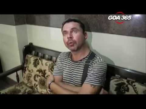 Are Russians functioning illegally as tourist guides in Goa?