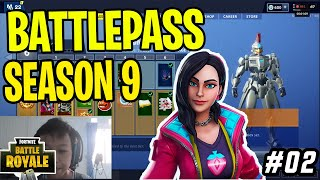 BATTLE PASS Season 9 Review+ Gameplay Fortnite Indonesia #RZNGEGAME#5