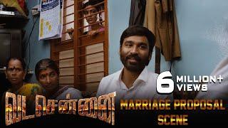 VADACHENNAI Marriage Proposal Scene | Dhanush | Ameer | Andrea Jeremiah | Vetri Maaran