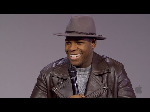 John Boyega Interview on Star Wars, the Episode 8 Script and Taking Harrison Ford for Dinner