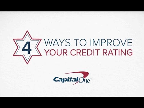 Capital One Ways To Improve Your Credit Score