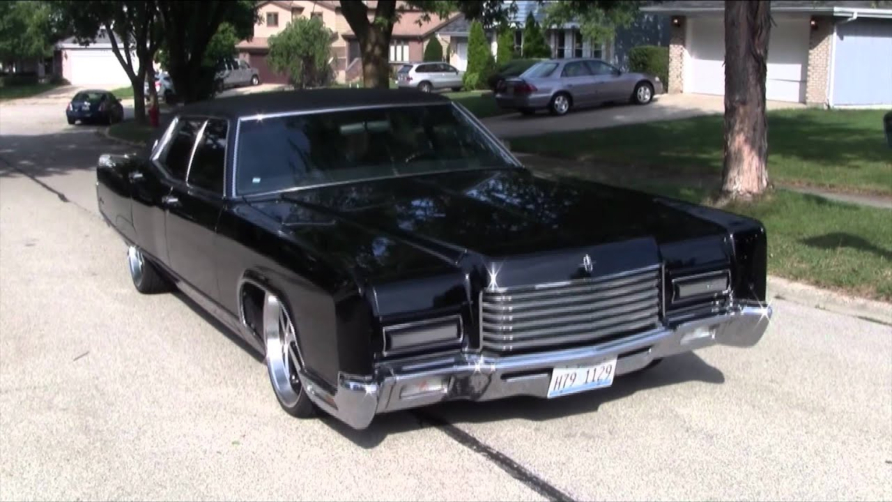 1971 Lincoln Continental, 50 cent In Da Club - YouTube