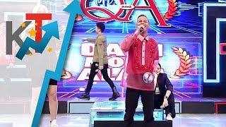 Vice, Anne, Vhong at Jhong, nag-alisan dahil sa haba ng sagot ni Mr. Q & A candidate Jason