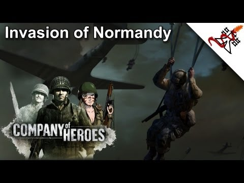 Company of Heroes - 1. Omaha Beach   Invasion of Normandy [HD/1080]  