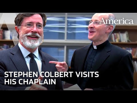 Colbert Catechism: Stephen Colbert professes his faith to Fr. James Martin