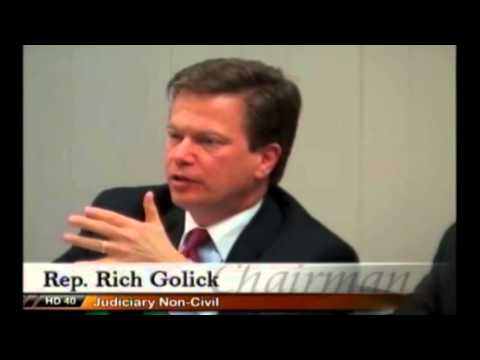 GA House Judicial Non Civil Committee guts HB 722 - February 22, 2016