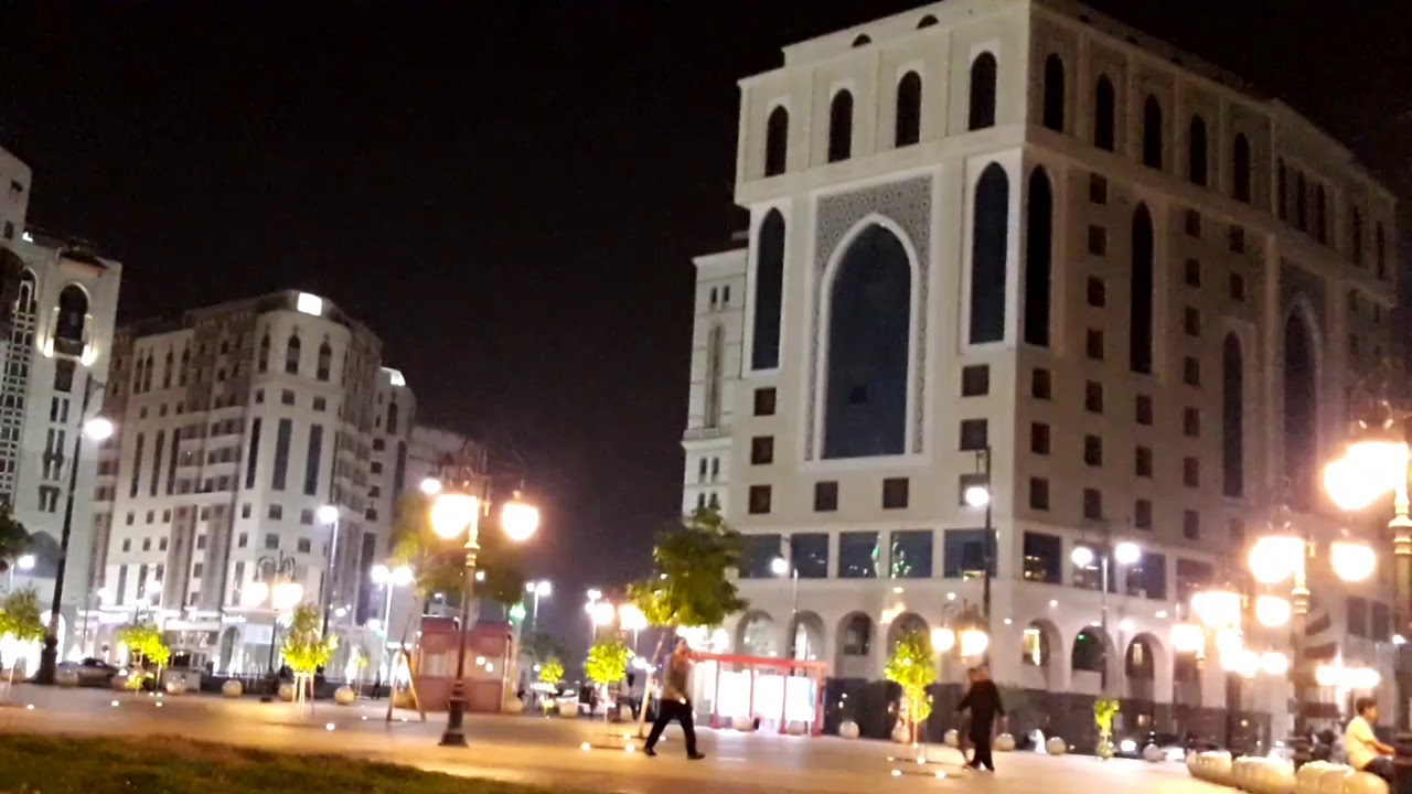 Streets of Madinah || Night View||