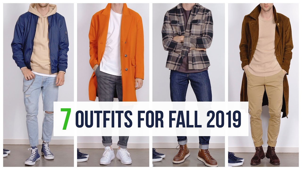 [VIDEO] – A Full Week of Fall Looks | Outfit Inspiration | Men's Fashion