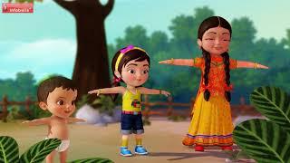 চলো ব্যায়াম করো    Bengali Rhymes for Children   Infobells