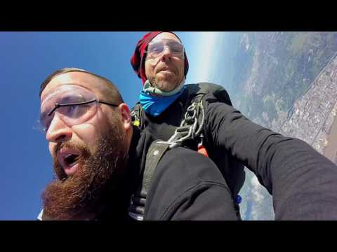 Jumping out of a plane from twelve thousand feet | 027