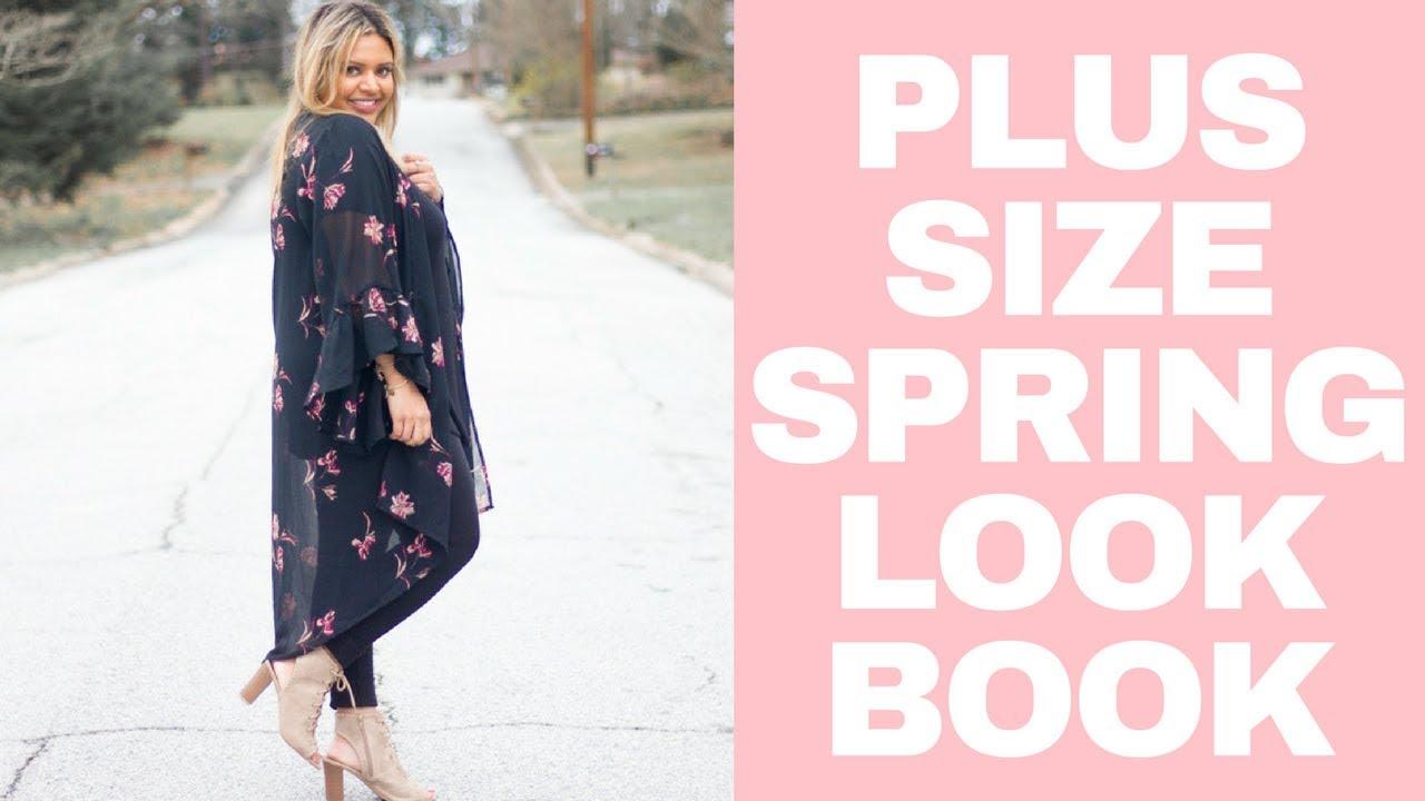 Plus Size Fashion: Spring Lookbook 1