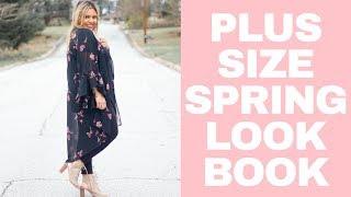 Plus Size Fashion: Spring Lookbook