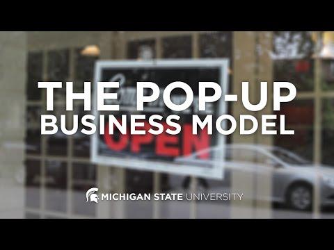 Pop Up Business Model