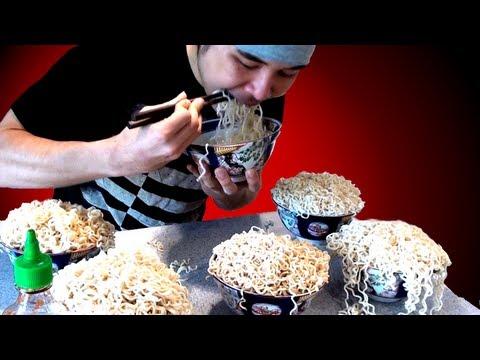 Crazy Ramen Eating Stunt (5.09kg)