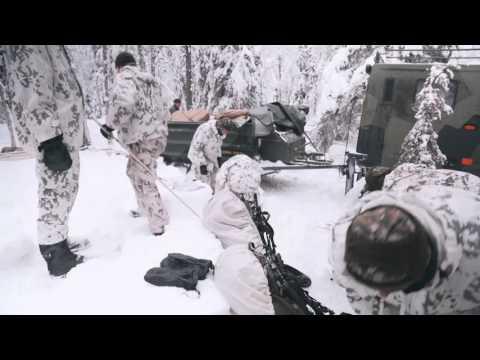 EU Nordic USAR Cold Conditions training in Sodankylä