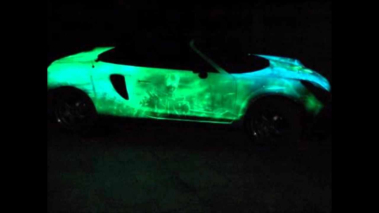 Glowing Car Paint